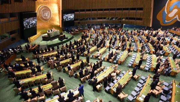 Zasedání Valného shromáždění OSN - Sputnik Česká republika