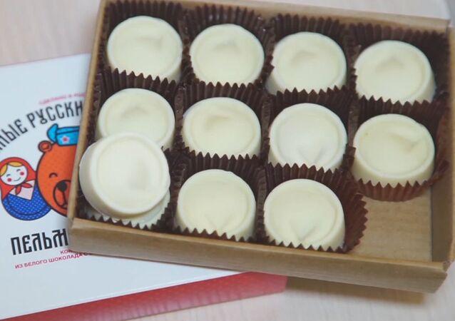 Čokoládové pelmeně