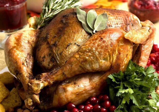 Upečené kuře. Ilustrační foto