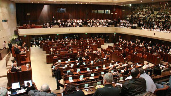 Zasedání Knessetu - Sputnik Česká republika