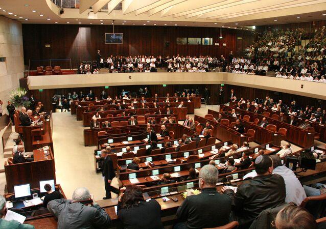Zasedání Knessetu