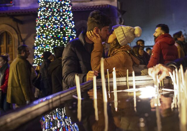Vánoční mše v Istanbulu