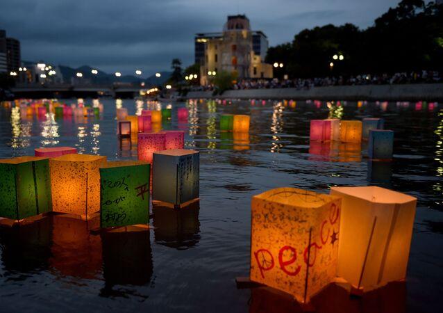 Japonsko si připomíná 70. výročí svržení jaderné bomby na Hirošimu