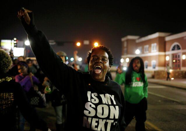 Demonstrace ve Fergusonu