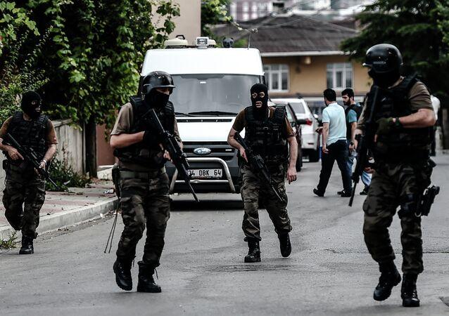 Turečtí příslušníci speciálních jednotek