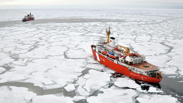 Arktický výzkum. Ilustrační foto - Sputnik Česká republika