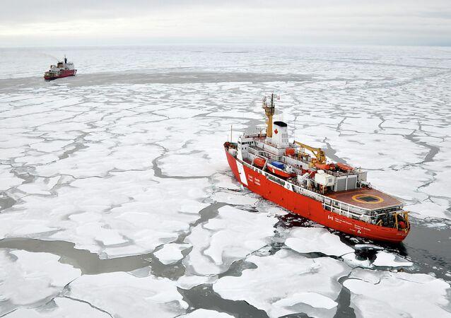 Arktický výzkum. Ilustrační foto