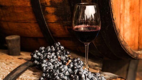 Víno a hrozno. Ilustrační foto - Sputnik Česká republika