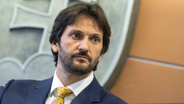 Místopředseda strany SMER, poslanec NR SR a bývalý ministr vnitra Slovenska Robert Kaliňák - Sputnik Česká republika