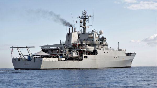 Britská průzkumná loď HMS Echo H87 - Sputnik Česká republika