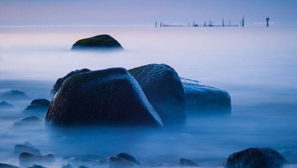 Mlha nad německým ostrovem Fehmarn - Sputnik Česká republika