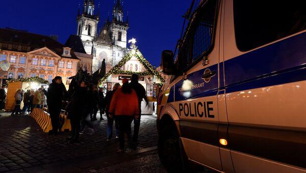 Policie v Praze. Ilustrační foto - Sputnik Česká republika