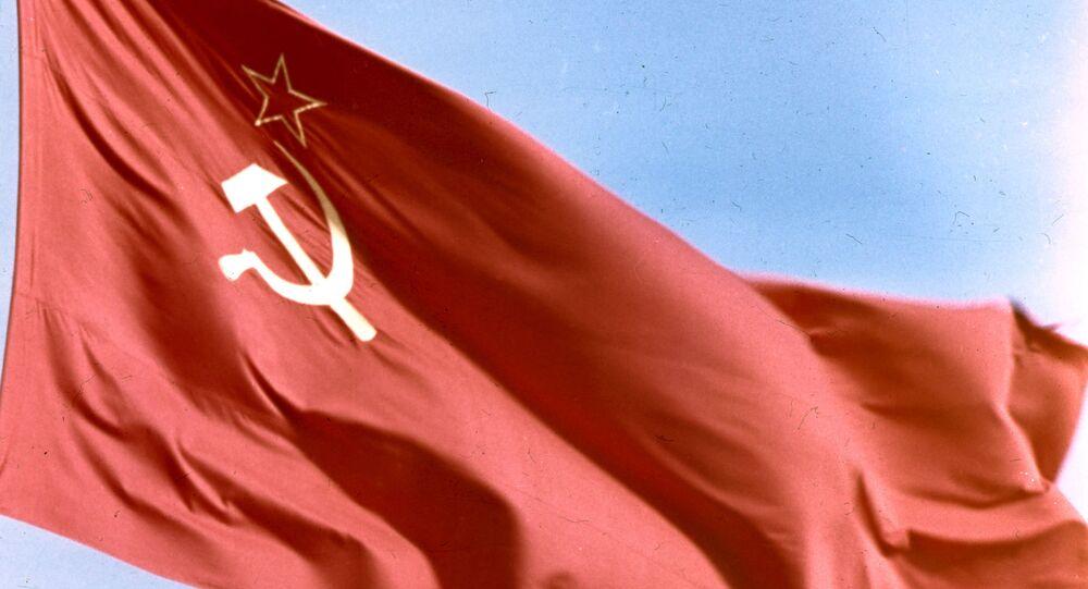 Vlajka SSSR (ilustrační foto)