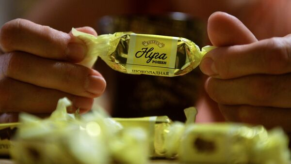 Čokoládové bonbony ukrajinské společnosti Roshen - Sputnik Česká republika