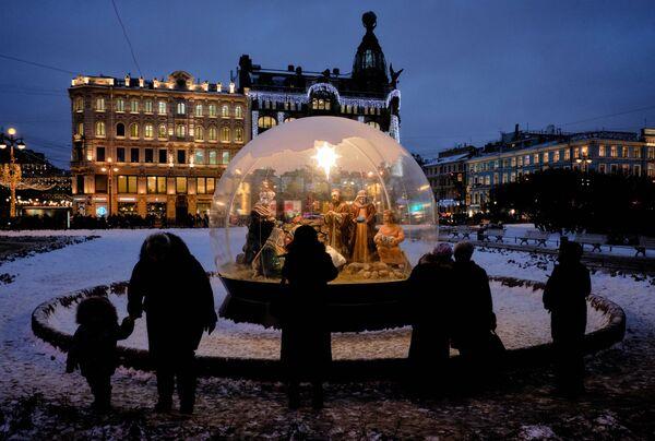 Týden v obrázcích: jak si zapamatujeme konec prosince? - Sputnik Česká republika