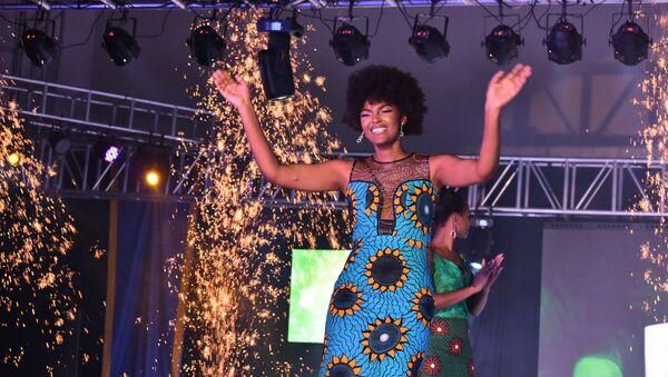 Vítězka soutěže krásy Miss Afrika 2018 Dorcas Kasindeová - Sputnik Česká republika