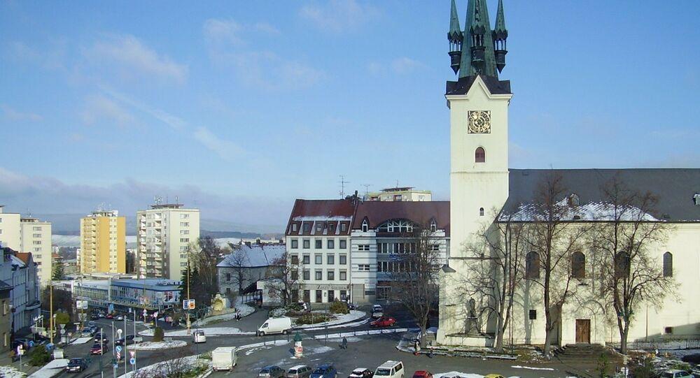 Pohled na náměstí T. G. Masaryka v Příbrami. Ilustrační foto