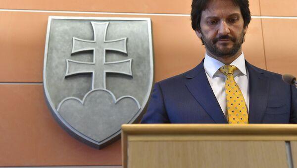 Exministr vnitra Robert Kaliňák - Sputnik Česká republika