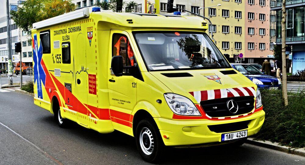 Záchranná služba. Ilustrační foto