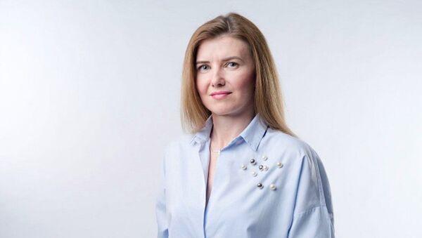 Předsedkyně Národní koalice SK Slavěna Vorobelová - Sputnik Česká republika