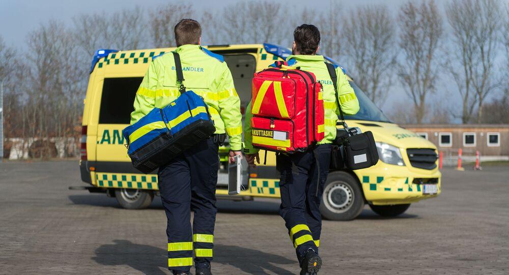 Záchranná služba v Dánsku