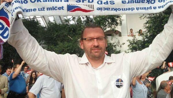 Český politik Lubomír Volný - Sputnik Česká republika