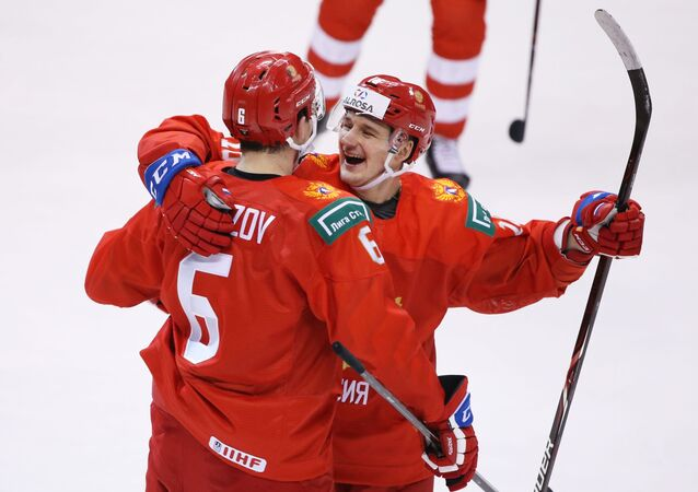 Ruský hokejový juniorský tým