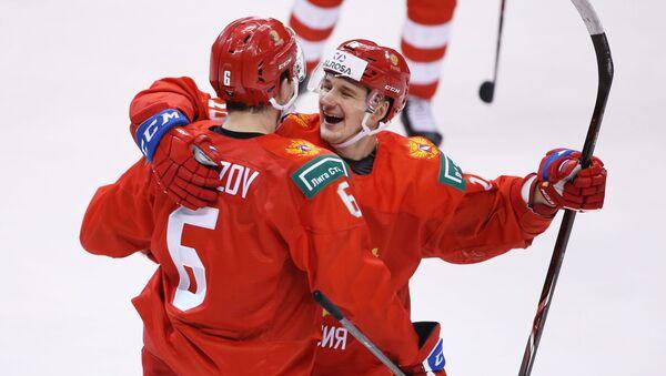Ruský hokejový juniorský tým - Sputnik Česká republika