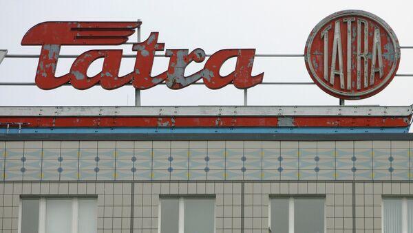 logo Tatra - Sputnik Česká republika