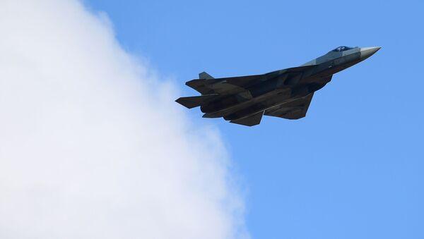 stíhačka páté generace Su-57 - Sputnik Česká republika