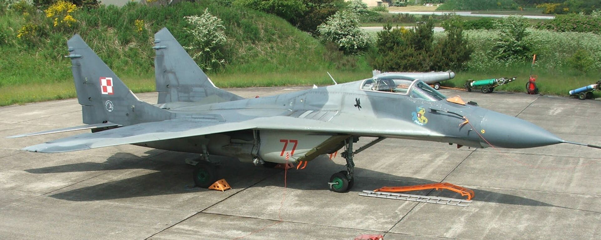 MiG-29 polského letectva - Sputnik Česká republika, 1920, 08.06.2021