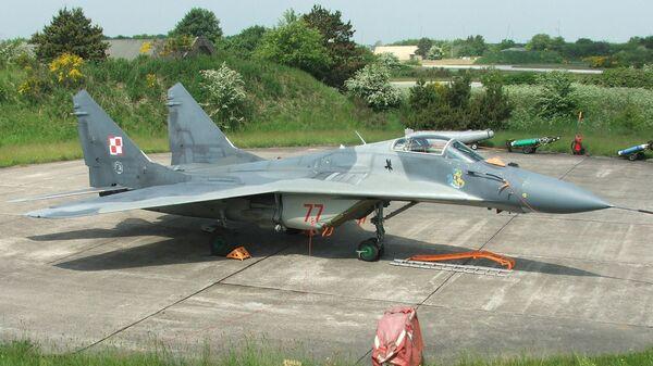 Истребитель ВВС Польши МИГ-29 - Sputnik Česká republika