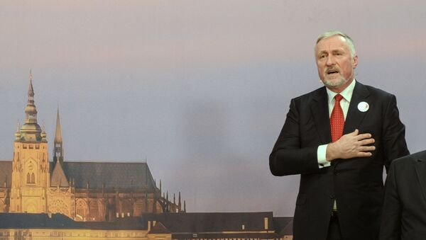 Mirek Topolánek - Sputnik Česká republika