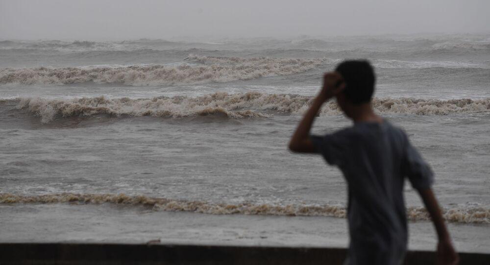 Tajfun (Ilustrační foto)
