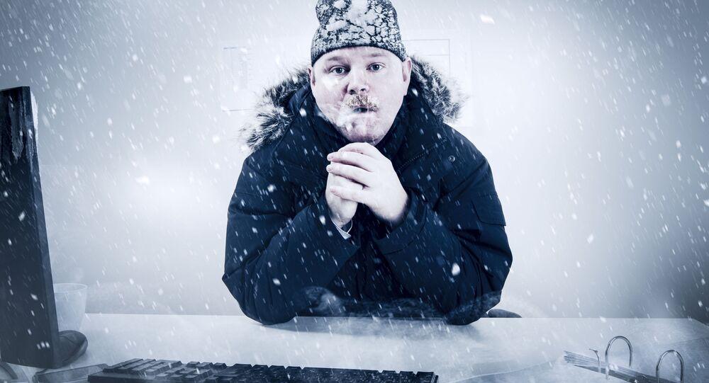 Muž a zima