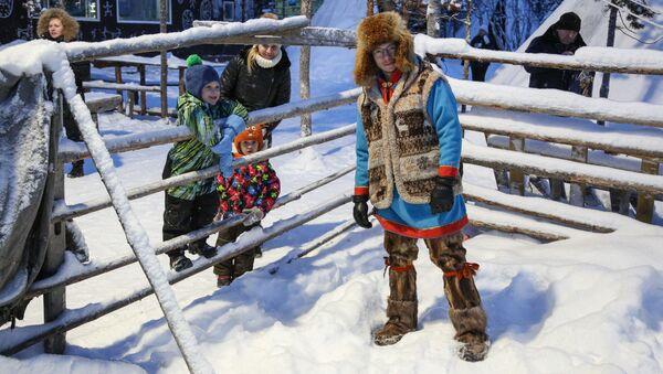 Udržují si svůj způsob života i navzdory globalizaci. Sámská vesnice na poloostrově Kola - Sputnik Česká republika