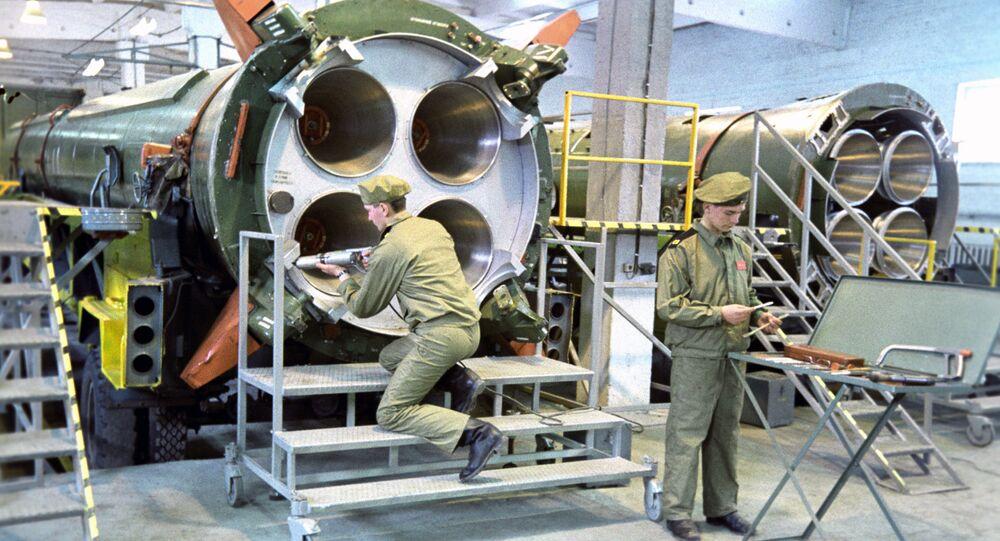 Likvidace raketových prostředků R-12 podle INF, 1987