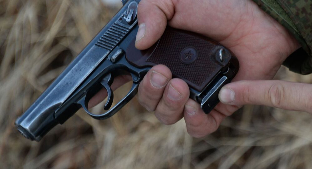 Pistole Makarov. Ilustrační foto