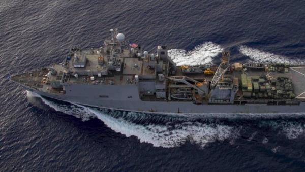 Výsadková loď námořnictva Spojených států Fort McHenry - Sputnik Česká republika