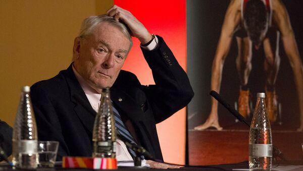Bývalá hlava Světové protidopingové agentury (WADA) Richard Pound - Sputnik Česká republika