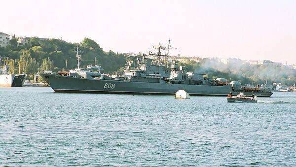Strážní loď Černomořské flotily Pytlivyj - Sputnik Česká republika