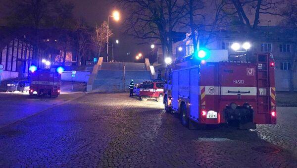 Na Výstavišti unikal plyn: Jedenáct hokejistů skončilo v nemocnici - Sputnik Česká republika