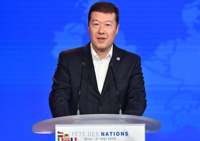Lídr SPD Tomio Okamura