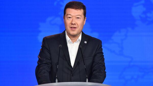 Předseda hnutí SPD, Tomio Okamura - Sputnik Česká republika