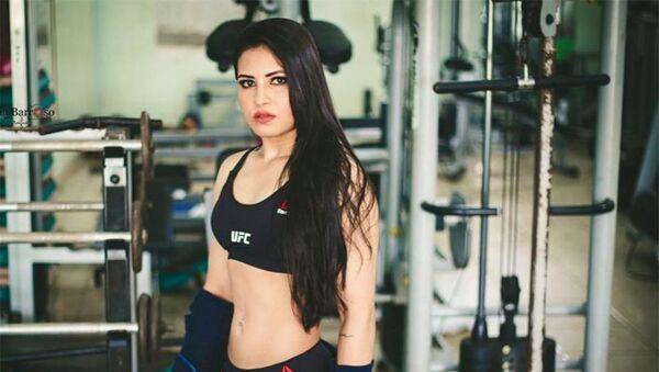 Šampionka UFC Polyana Viana - Sputnik Česká republika