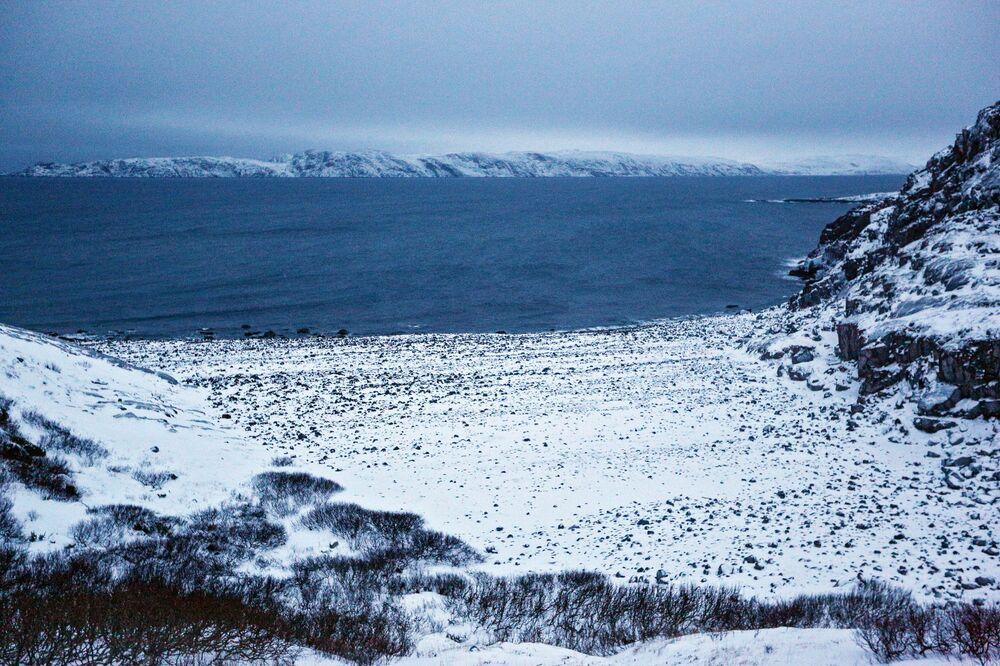 Kolský poloostrov v černobílých barvách