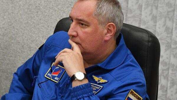 Ředitel Roskosmosu Dmitrij Rogozin - Sputnik Česká republika