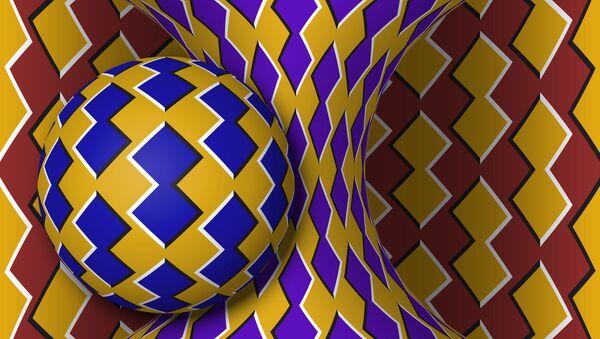 Optická iluze. Ilustrační obrazek - Sputnik Česká republika