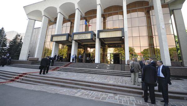 Moldavský parlament - Sputnik Česká republika