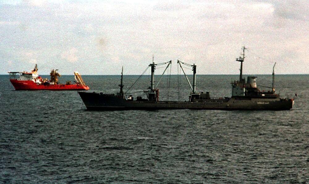 Tragédie jaderné ponorky Kursk